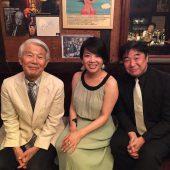 Mayumi with Papa & Son